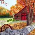 Autumn Day by Julia Rietz