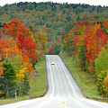 Autumn Drive by David Lee Thompson