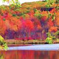 Autumn East Coast I by Chuck Kuhn