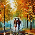 Autumn Elegy by Leonid Afremov