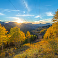 Autumn Evening At Guardsman Pass Utah by James Udall