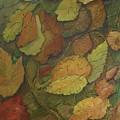 Autumn Falling by Monica Hebert