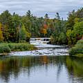 Autumn Falls by Randy Gebhardt
