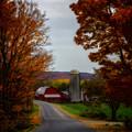 Autumn Farm by Chris Bordeleau
