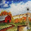 Autumn Farm by Darrell Mcgahhey