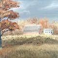 Autumn Farm  by J O Huppler