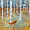 Autumn Fox by Spacefrog Designs