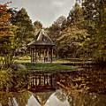 Autumn Gazebo Reflection by Tom Gari Gallery-Three-Photography