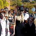 Autumn Ghouls At Emma Crawford Coffin Races In Manitou Springs Colorado by Steve Krull