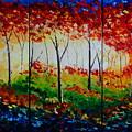 Autumn Glade by Valerie Curtiss
