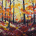 Autumn Gold by Rollin Kocsis
