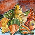 Autumn Gourds by Mindy Newman