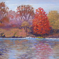 Autumn Hanging On by Judy Fischer Walton