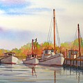 Autumn Harbor by Hugh Harris