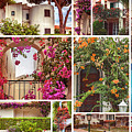 autumn houses,  gardens and balconies in Portugal by Ariadna De Raadt