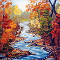 Autumn In Cunningham Park  by Ruth  Housley