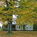 Autumn In Franklin by Deborah Benoit