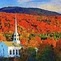 Autumn In New England - 04 by Andrea Mazzocchetti