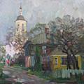 Autumn In Old City by Juliya Zhukova
