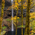 Autumn In Silver Falls by Scott Law