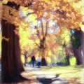 Autumn In The Park by Jeannine Walker
