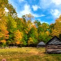 Autumn In The Smoky Mountains # 4 by Mel Steinhauer