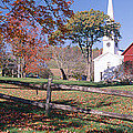Autumn In Village Of Peacham, Vermont by Panoramic Images