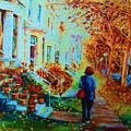Autumn In Westmount by Carole Spandau