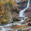 Autumn Kaaterskill Falls Square by Bill Wakeley