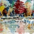 Autumn Lake by Mindy Newman