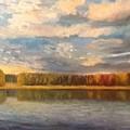 Autumn. Lake. by Timofeevskaya Galina