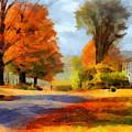 Autumn Landscape by Sergey Lukashin