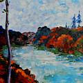 Autumn Landscape by Shirley Heyn