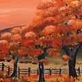 Autumn Leaves - Falling  by Jan Dappen