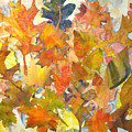 Autumn Leaves by Joyce Kanyuk