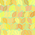 Autumn Leaves Pattern by Gaspar Avila
