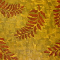 Autumn Leaves by Modern  Palette Art