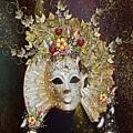 Autumn Mask by Ali Oppy