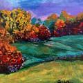 Autumn Meadow by Lidija Ivanek - SiLa