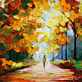 Autumn Mood by Leonid Afremov