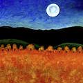 Autumn Moon I by Brian Wayne Bingham