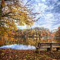 Autumn Morning by Debra and Dave Vanderlaan