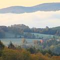 Autumn Morning In Peacham Vermont by John Burk