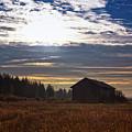 Autumn Morning On The Fields by Jukka Heinovirta