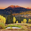 Autumn Mountain Landscape, Colorado, Usa by Dmitry Pichugin