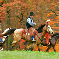 Autumn On Horseback by Regina Geoghan