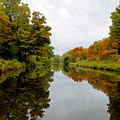 Autumn On The Erie Canal by David Lee Thompson