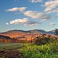 Autumn On The Farm Panorama by Chris Whiton