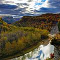 Autumn On The Genesee by Rick Berk