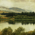 Autumn On The Lake by Margaret Hormann Bfa